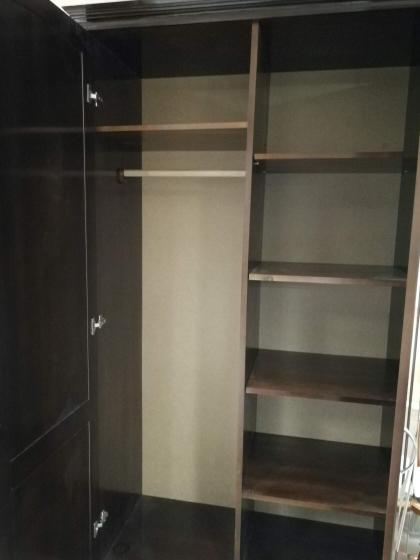 Шкаф двухстворчатый из массива берёзы