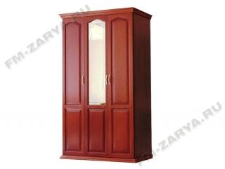 Шкаф 3-х створчатый с багетом и зеркалом