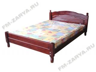 Кровать филенка спинка из двух досок