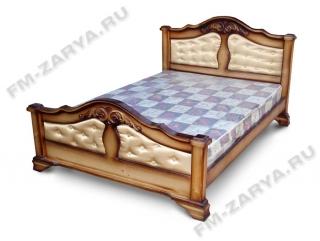 Кровать ЭКСТРА ткань(без резьбы)